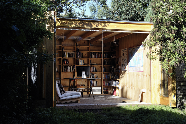 The Hackney Shed   A Simple Garden Studio By Office Sian | Humble Homes