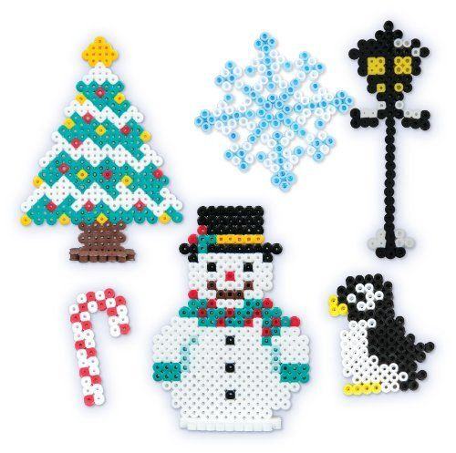 Perler Beads Fused Bead Kit - Snowman by Perler Beads, http://www.amazon.com/dp/B00920B210/ref=cm_sw_r_pi_dp_-bjjsb19AQ9X2