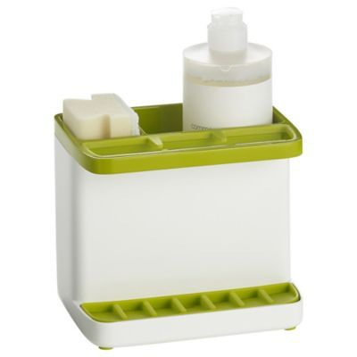 ILO Green & White Sink Tidy Caddy | Guest rooms | Pinterest ...