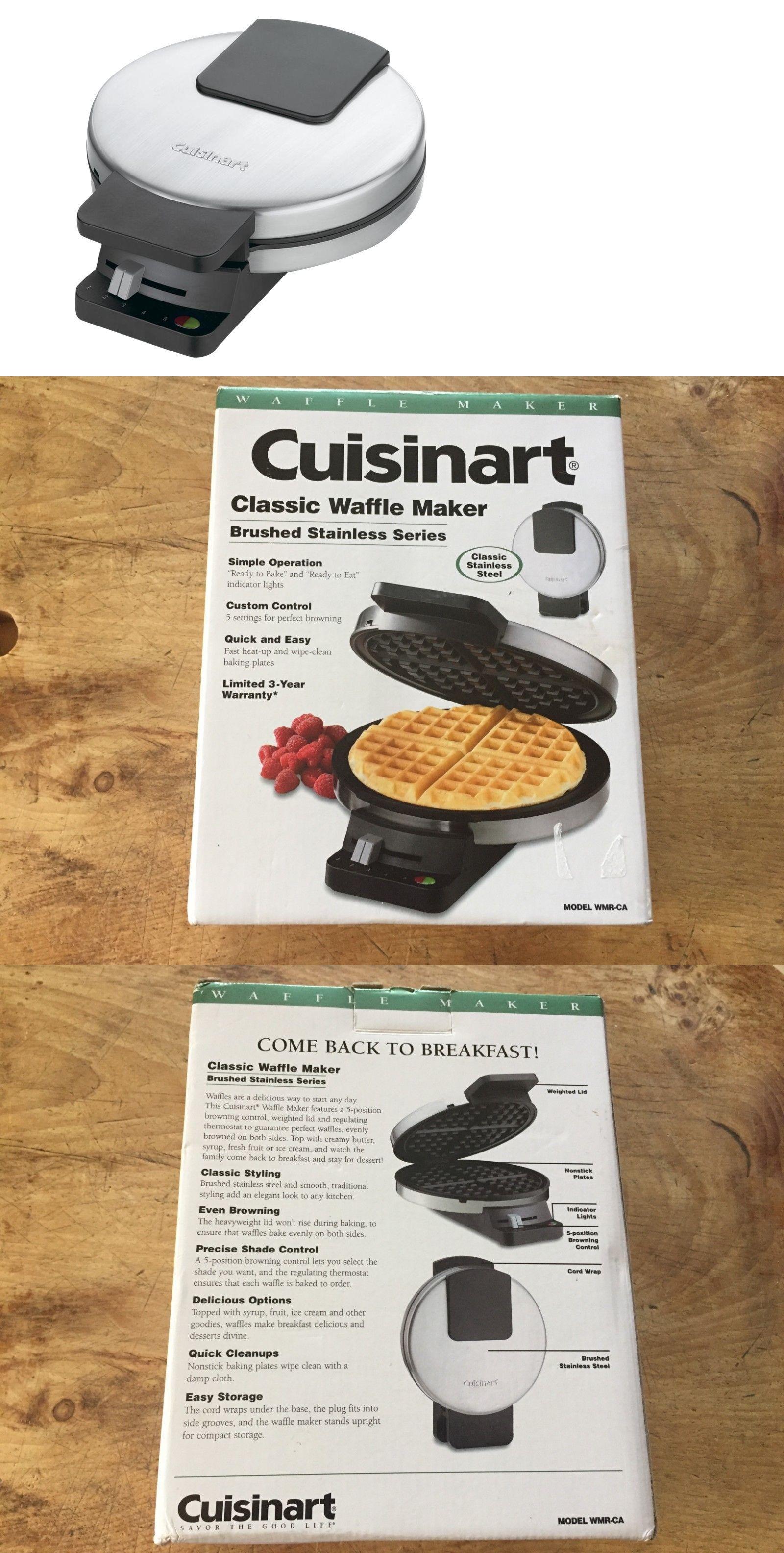 Waffle Makers 168763 Cuisinart Classic Waffle Maker Model Wmr Ca