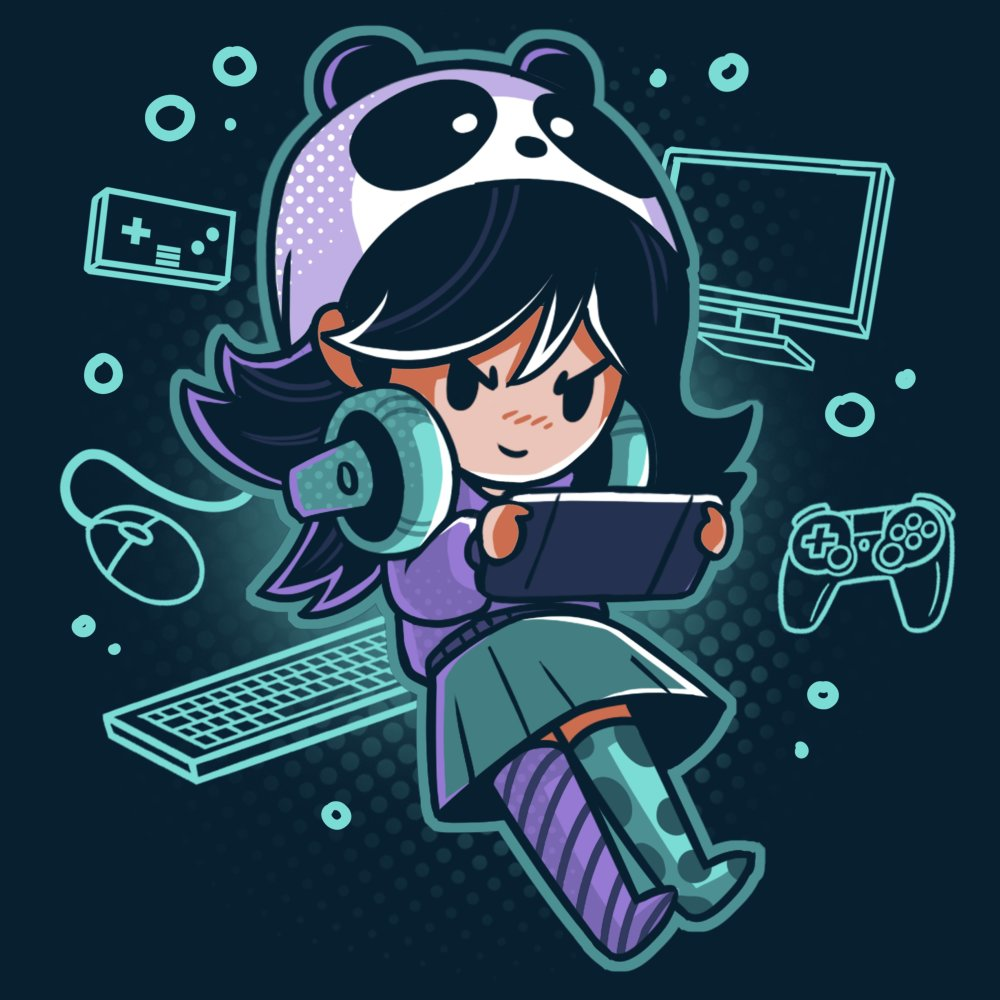 Gamer Girl TShirt / Mens / S Gamers anime, Nerdy