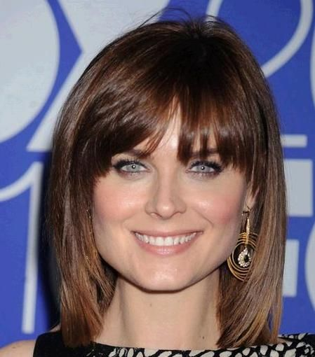 Best Bangs For Square Faces: Pin On Hairstyles