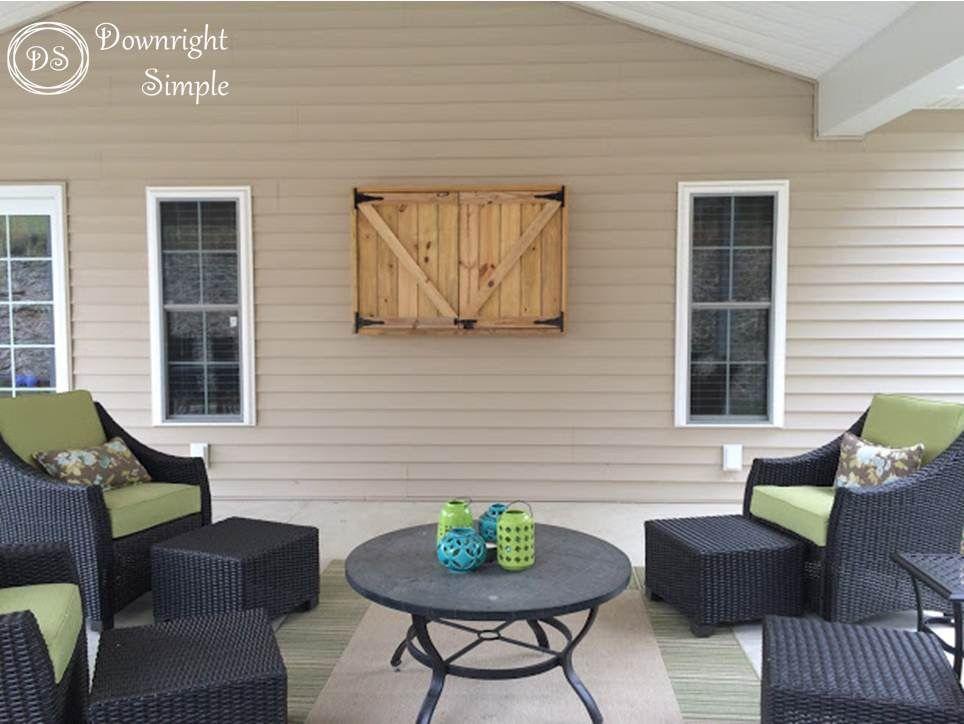 Downright simple outdoor tv outdoor tv