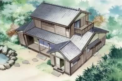 Shiguresplace アニメの風景 家 昔