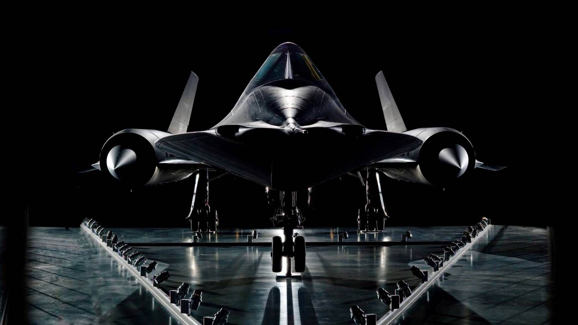 USAF Lockheed SR71 Blackbird is the world's fastest jet