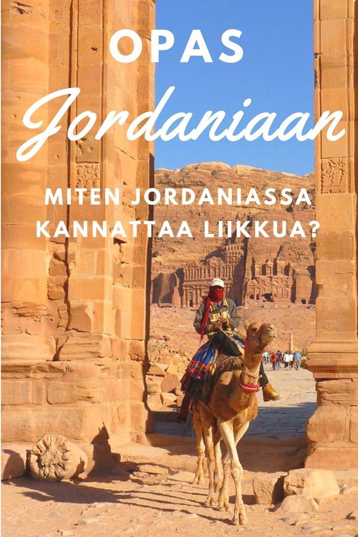 Vinkkejä liikkumiseen Jordaniassa. Jordania. Matkablogi Suunnaton.
