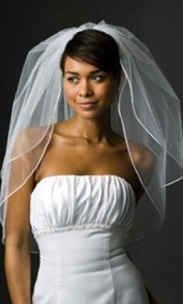 Wedding Dress Accessories - Veil Ivory Elbow David's Bridal $35 USD - New With Tags