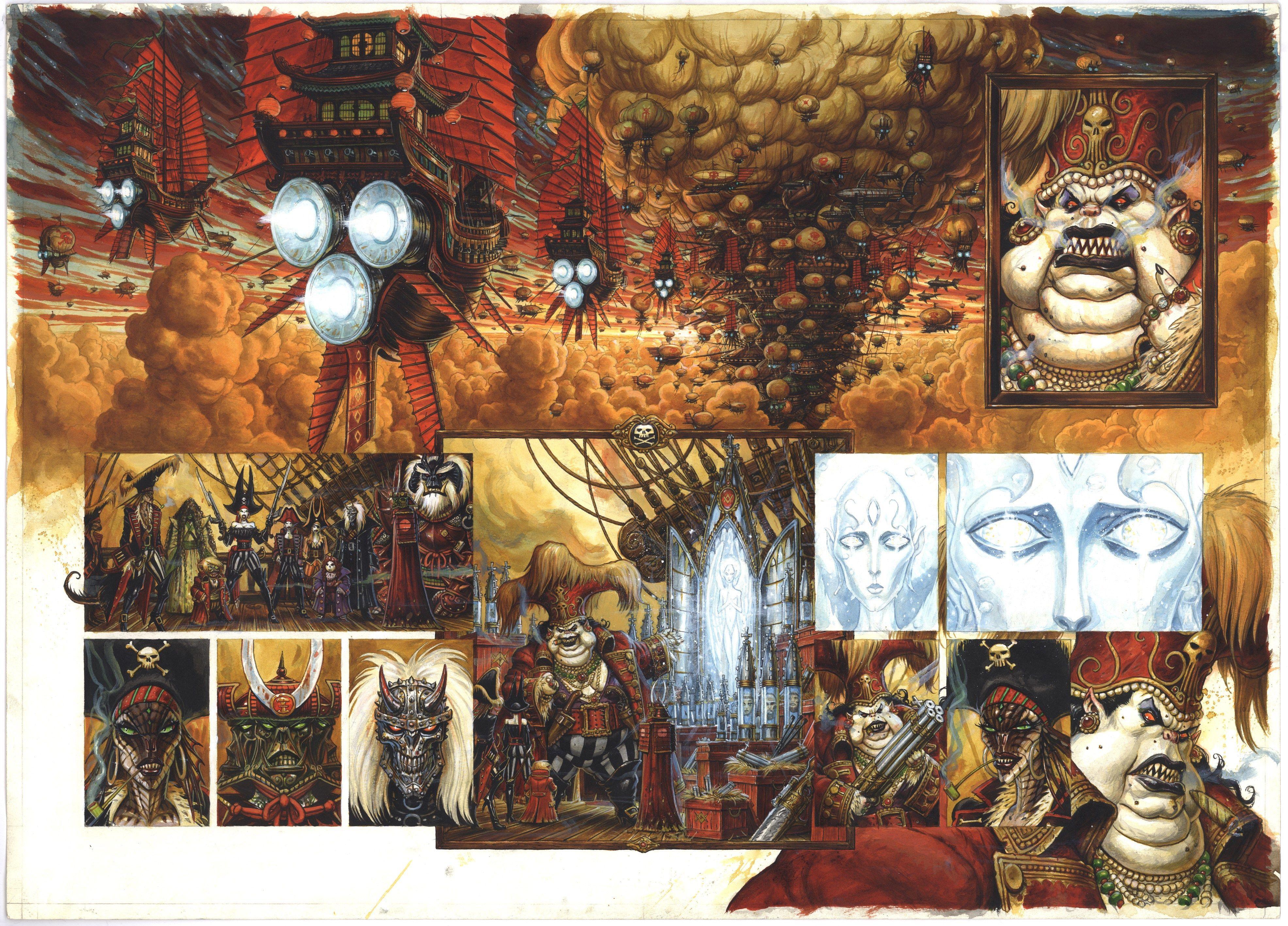 #4k requiem chevalier vampire hd wallpaper (3942x2835)