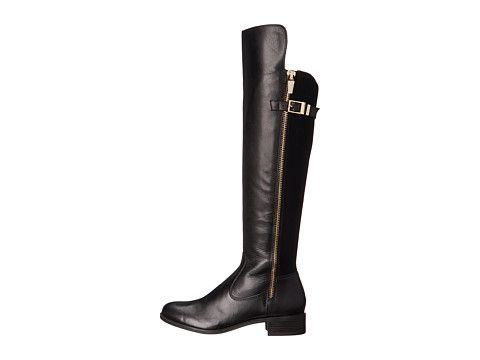 Calvin Klein Gigi Black Wide Calf Cow Kansas/Neoprene - 6pm.com