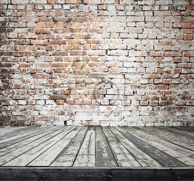 papier peint ancienne chambre avec mur de brique pixers. Black Bedroom Furniture Sets. Home Design Ideas