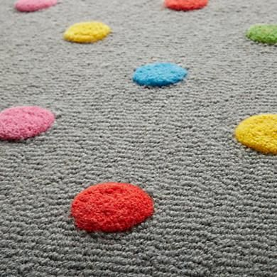 299 00 699 00 Kids Rugs Kids Multi Color Dot Candy Grey Rug In Patterned Rugs Kids Rugs Polka Dot Rug Dots Candy