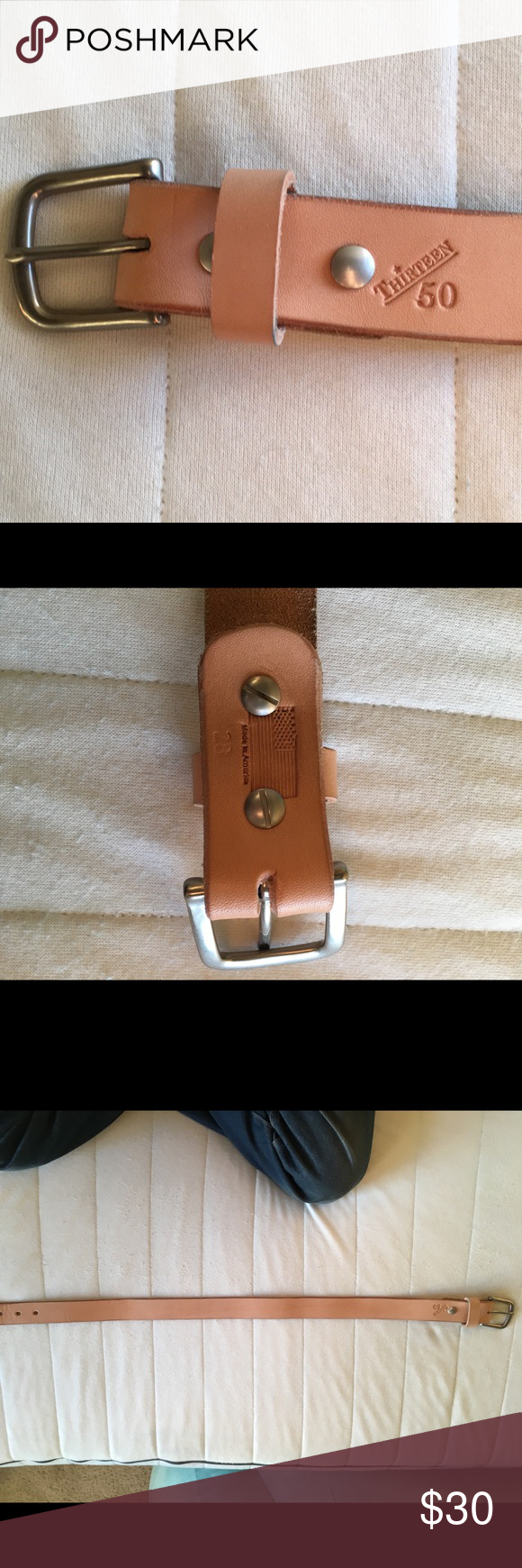 Thirteen50 : thirteen50, Thirteen, Leather, Belt,, Leather,