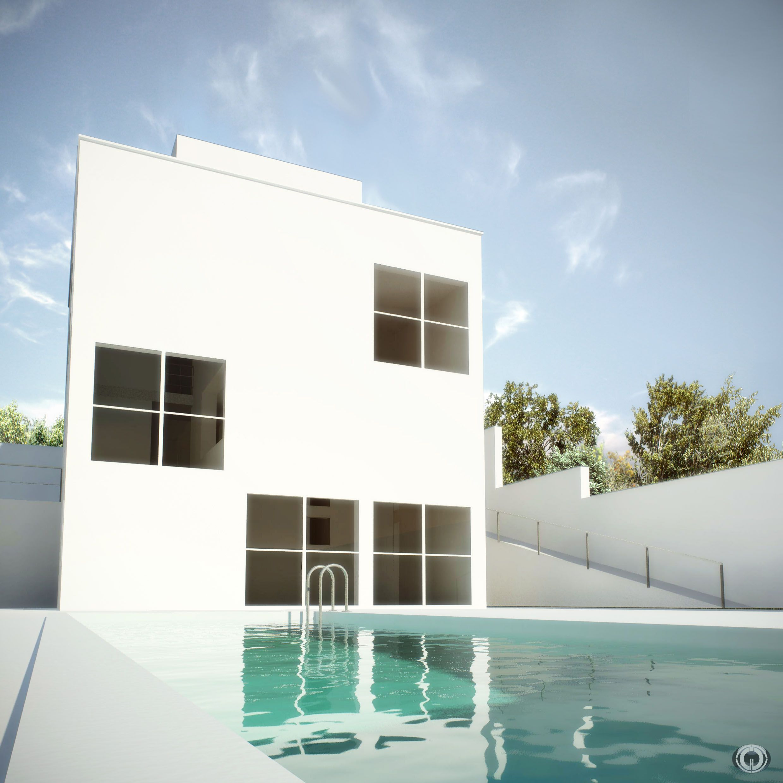 Bim building information modeling casa turegano campo - Construccion casas de campo ...
