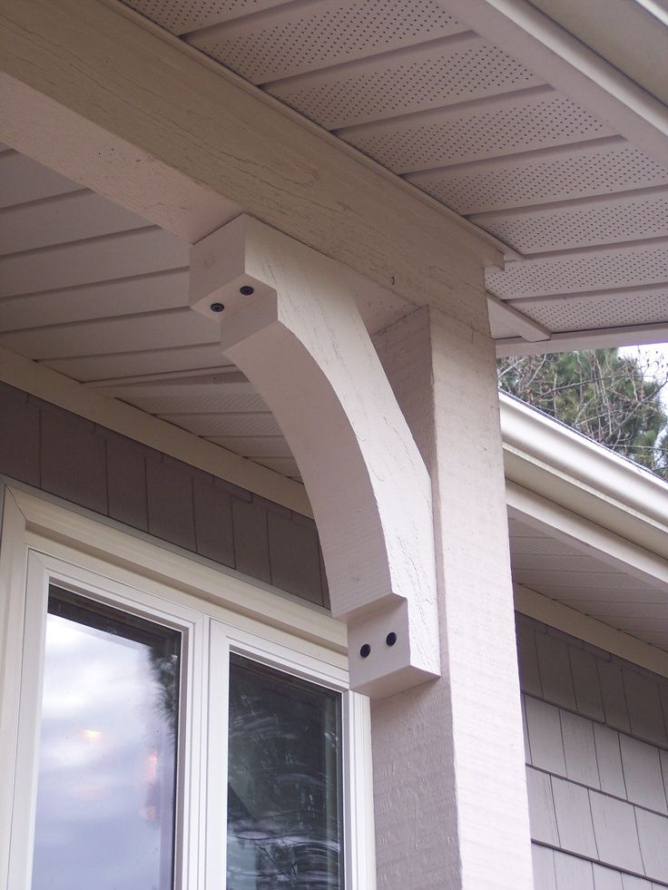 exterior brackets and corbels - Google Search | In my Garden ...