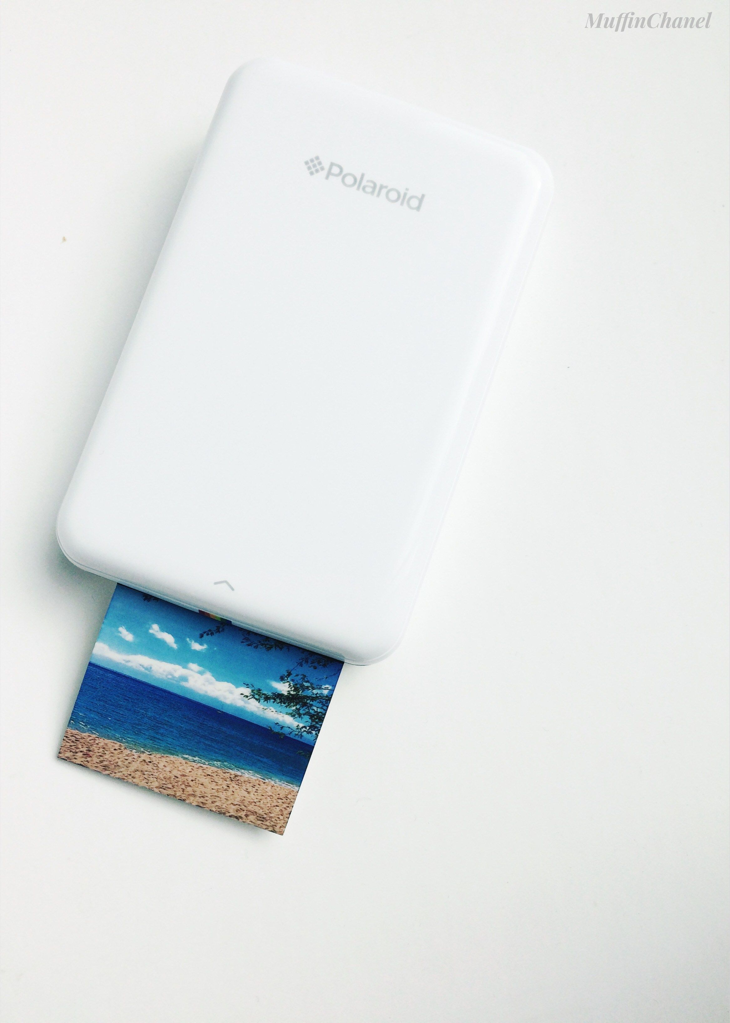 Polaroid Zip Instant Photo Printer Review Muffin Chanel Print 2