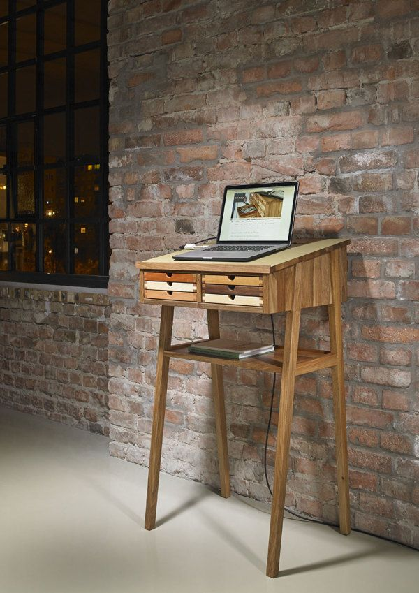 standing desk lecture sixtematic on behance furniture desk rh pinterest com
