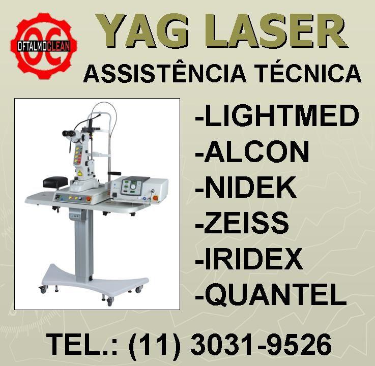 Cavidade Para Yag Laser Quantel Alcon Lightmed Nidek Assistencia Tecnica Fazer Um Orcamento Laser