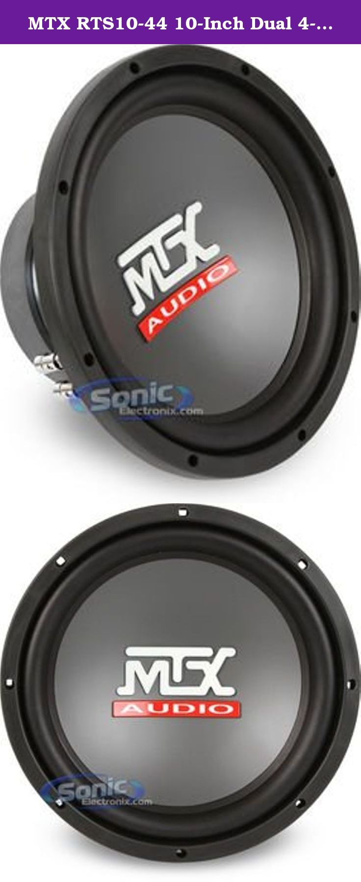 Mtx rts10 44 10 inch dual 4 ohm round subwoofer road thunder mtx rts10 44 10 inch dual 4 ohm round subwoofer road thunder subwoofers are the continued evolution of high performance subwoofers from mtx publicscrutiny Images