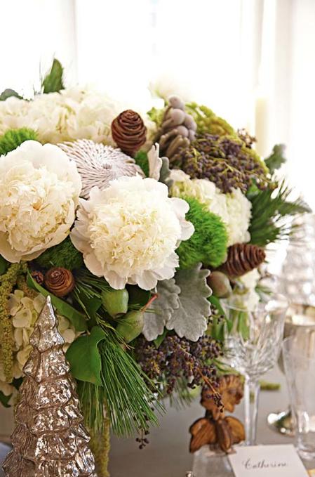 Amanda Carol at Home: holiday, beautiful Christmas bouquet