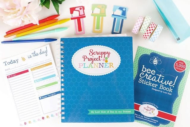 YaY!     It is week three of our   Scrappy Project Planner   Sew Along         It is just amazing   what you can make with just a...