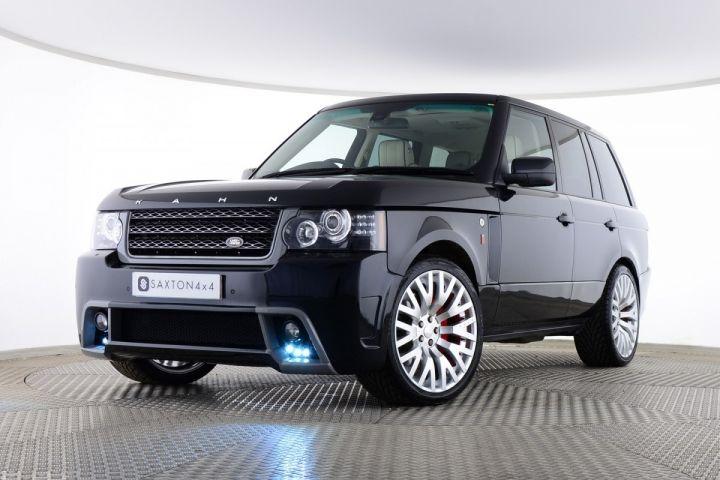 Used Land Rover Range Rover Tdv8 Vogue 5 Door Project Kahn Rs450 Black For Sale Essex Ca61njk Saxton 4x4