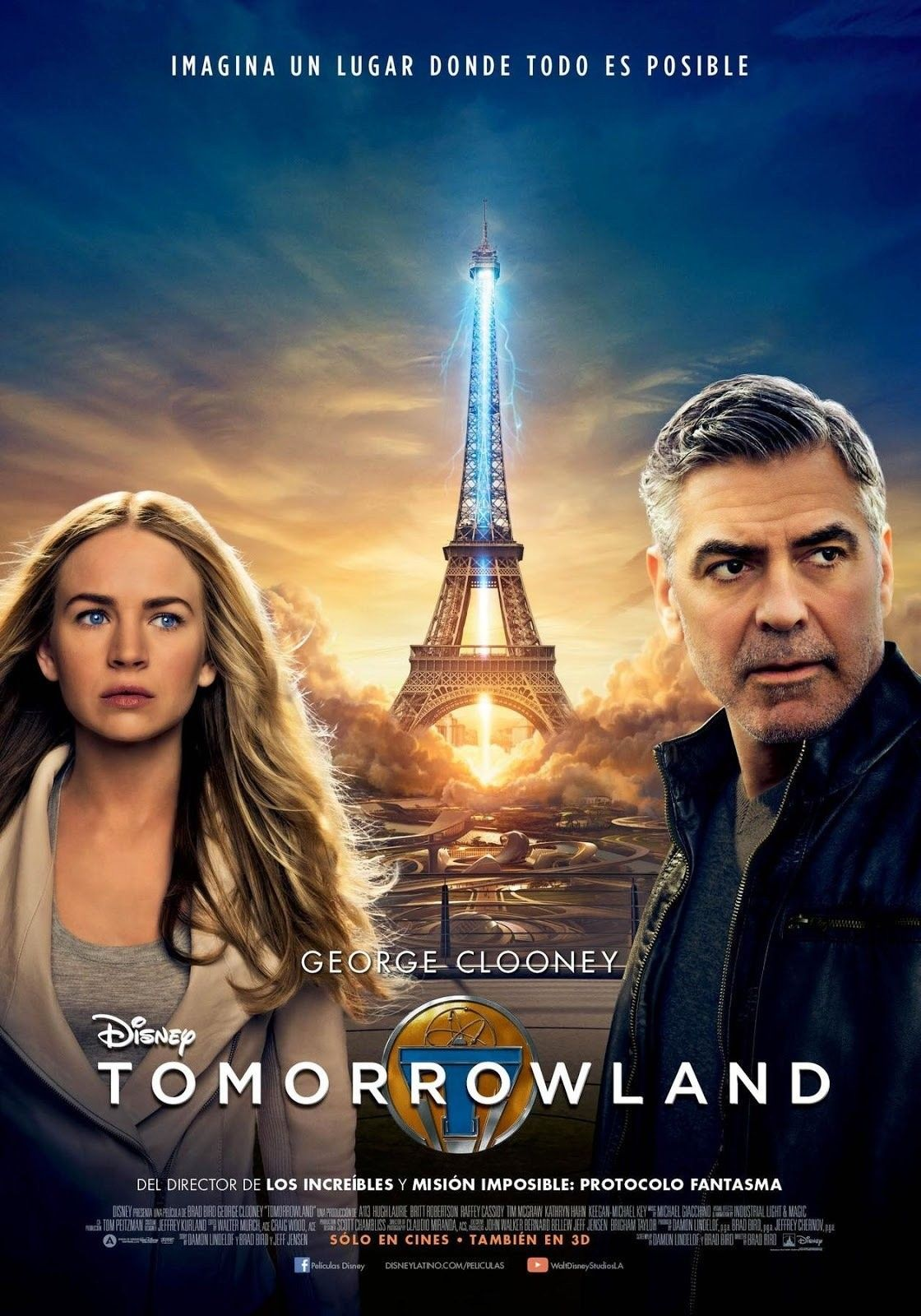 Ver Tomorrowland El Mundo Del Mañana Online Gratis 2015 Hd Película Completa Español Tomorrowland Movie Disney Live Action Movies Free Movies Online