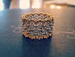buccellati lace ring