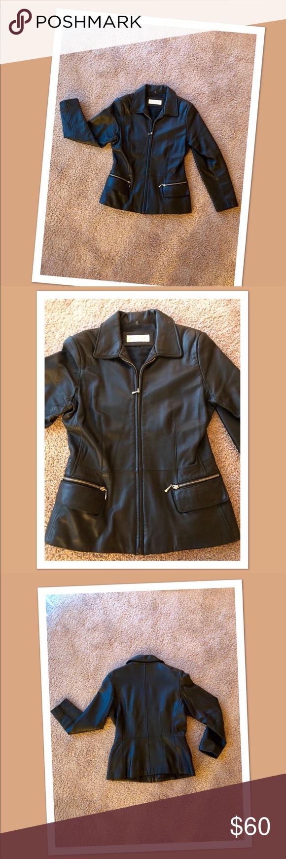 Jones New York Leather Jacket Leather Jacket Jones New York Leather [ 1740 x 580 Pixel ]