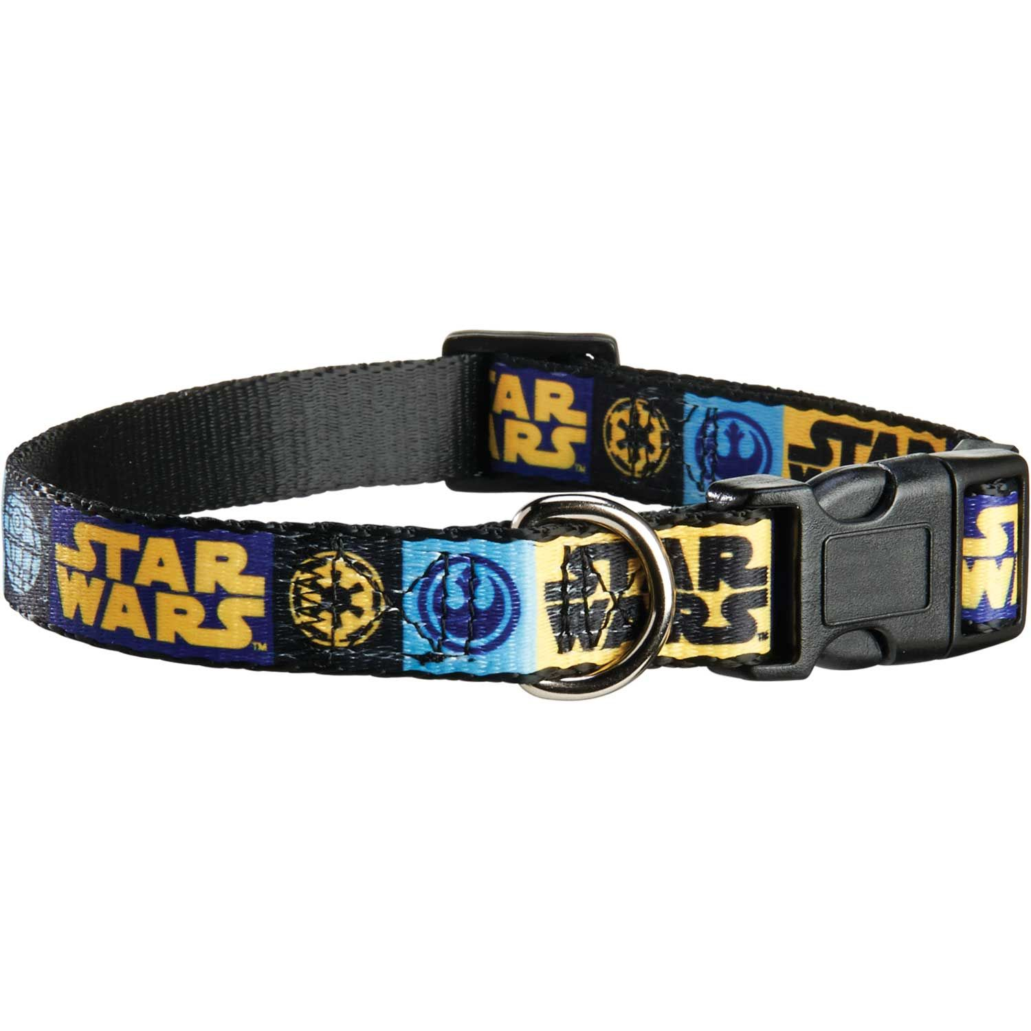 Cool Cat Supplies Star Wars Logo Adjustable Dog Collar My Pet Dreamboard