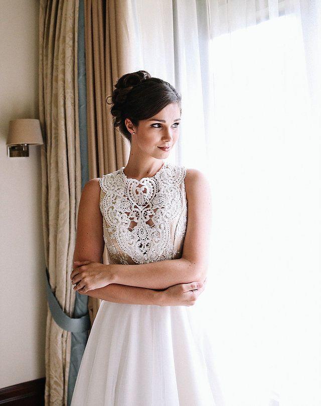 Traumhaftes Spitzen Vintage Brautkleid aus der Kollektion von Tian ...