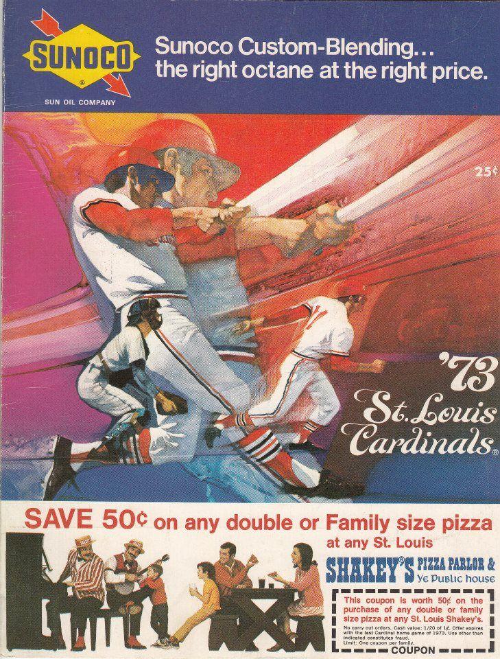 1973 Cardinals Scorecard