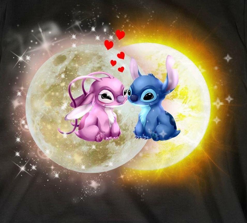 Enamorandonos Angel Lilo And Stitch Cute Disney Wallpaper Cartoon Wallpaper Iphone