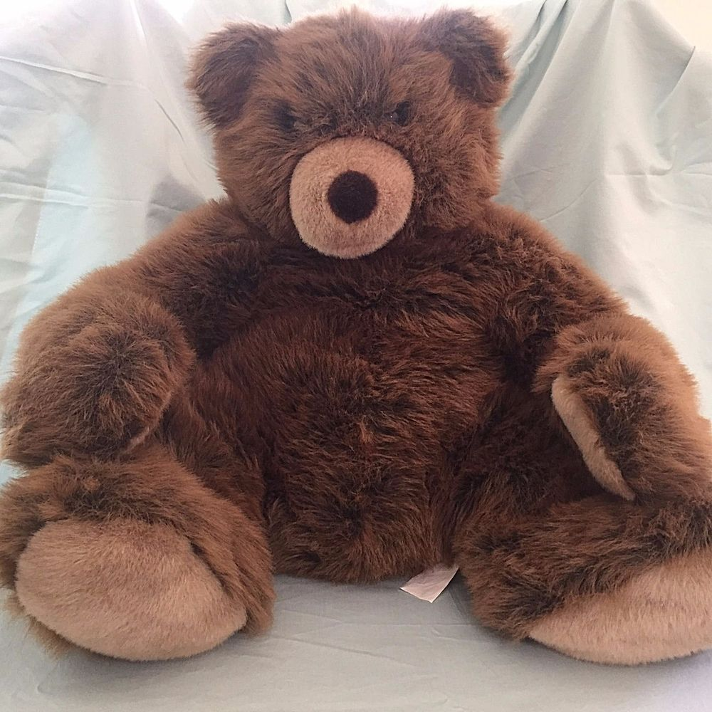 Extra Large Teddy Bear Brown Plush Stuffed Animal IKEA