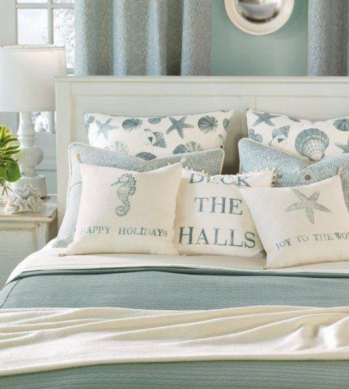 La chambre à coucher style marin: 38 exemples en images | House
