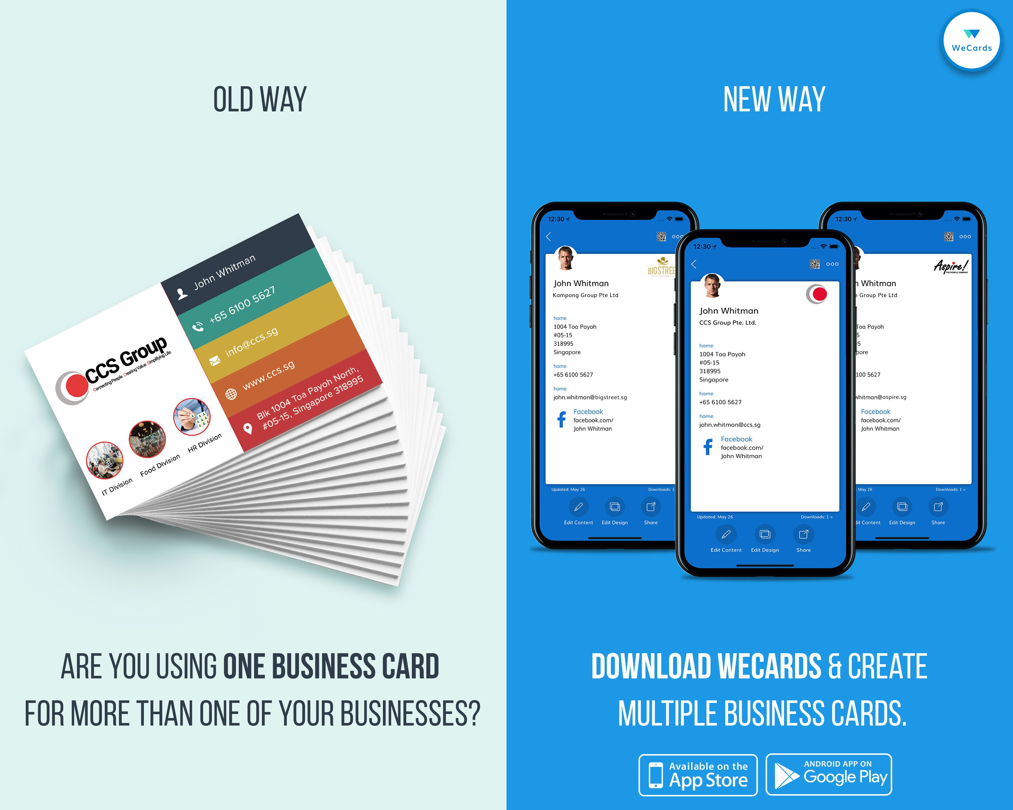 Looking For New Ways To Put Your Brand In Front Of Others An Innovative Way To Get Noticed And Shar Digital Business Card Business Card App Digital Business
