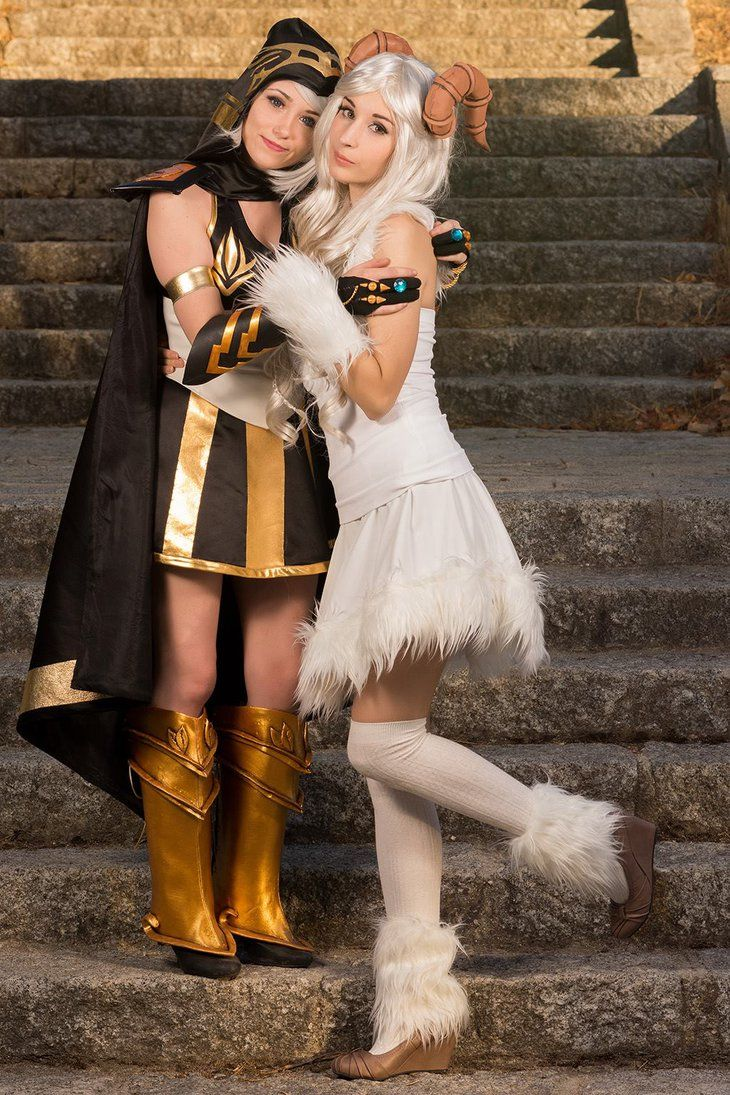 Ashe and Poro by NunnallyLol on deviantART