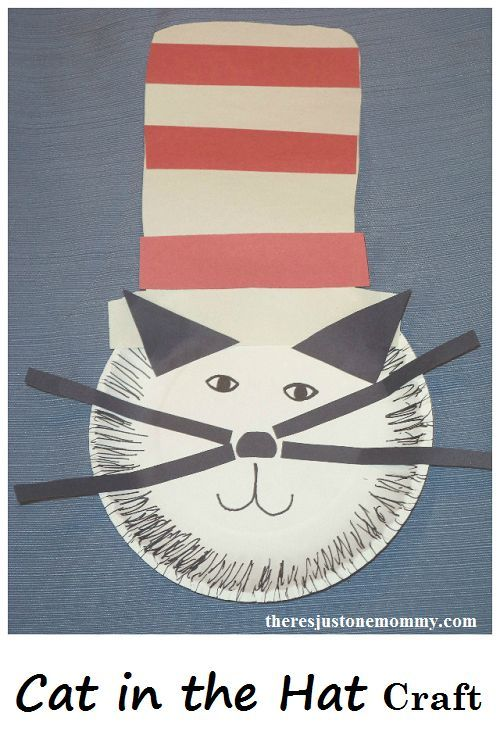 Cat In The Hat Craft Pinterest Paper Plate Crafts Dr Seuss