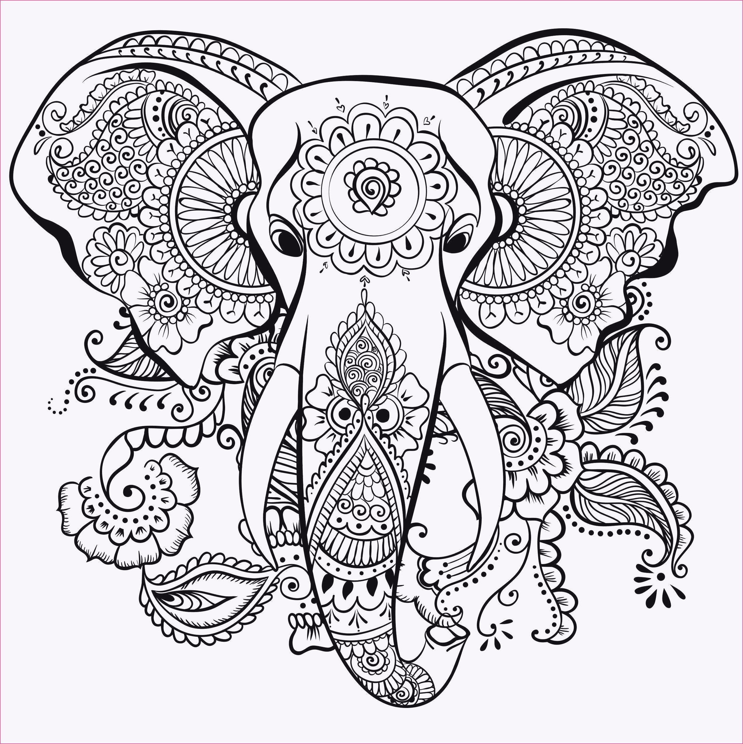 Coloring Apps For Computer Unique Kinder Ausmalbilder Am Puter In 2020 Elephant Coloring Page Mandala Coloring Pages Mandala Coloring