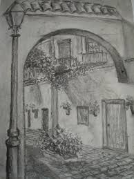 Resultado De Imagen Para Dibujos Con Lapiz Tracing Art Pencil Art Drawings Landscape Pencil Drawings