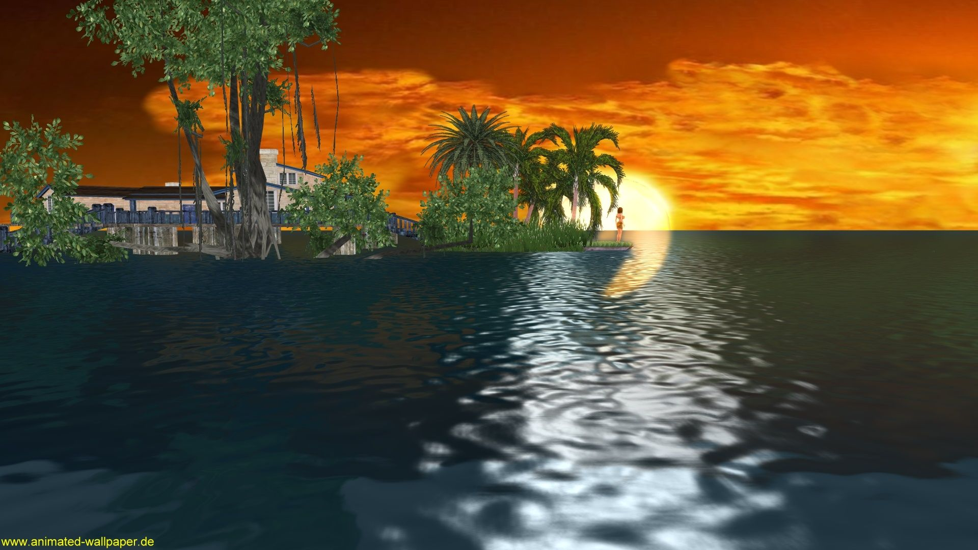 Download free 3d animated desktop wallpaper 3d animation wallpaper free download vista sunset desktop wallpaper