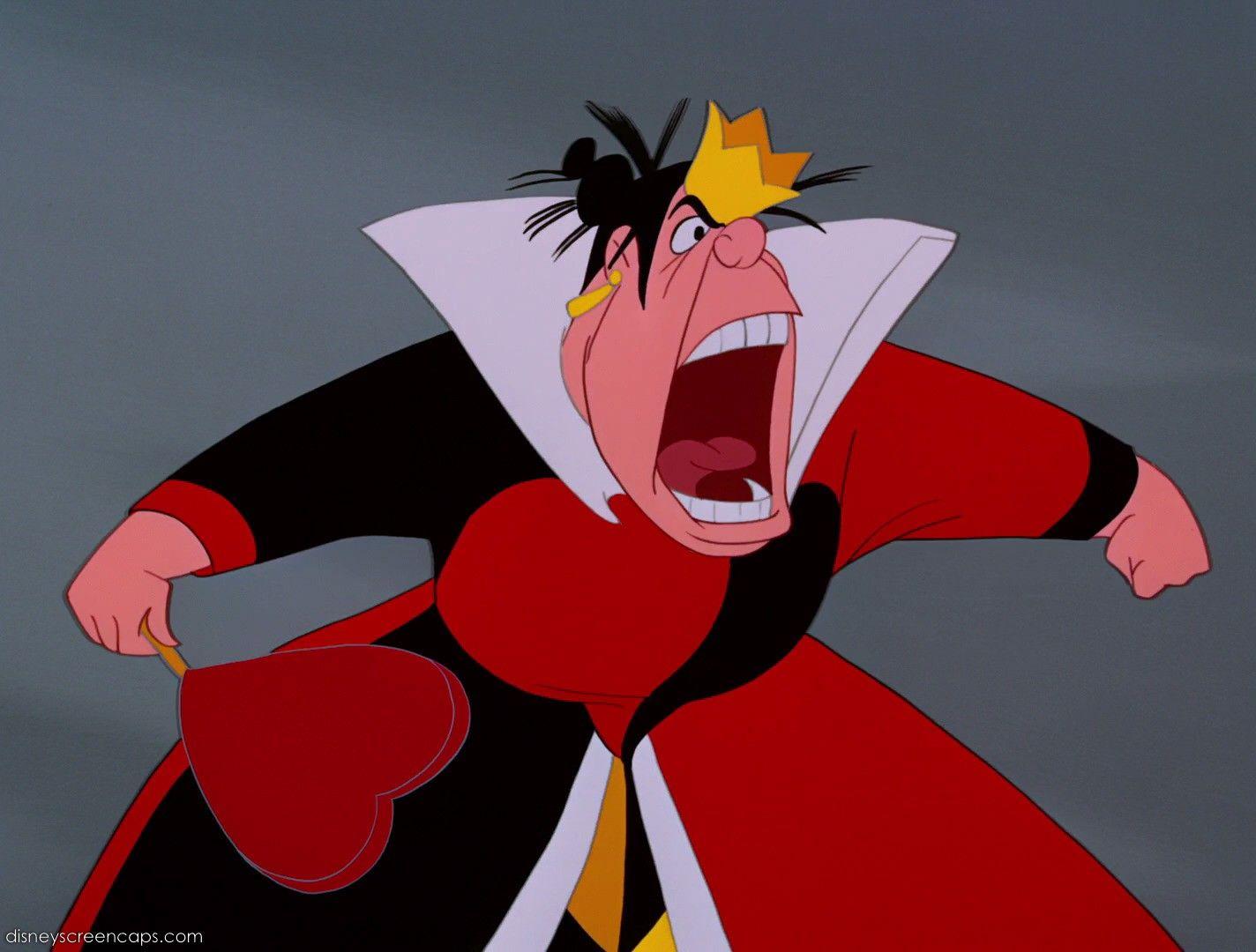 *QUEEN of HEARTs ~ Alice in Wonderland, 1951 | Disney ...