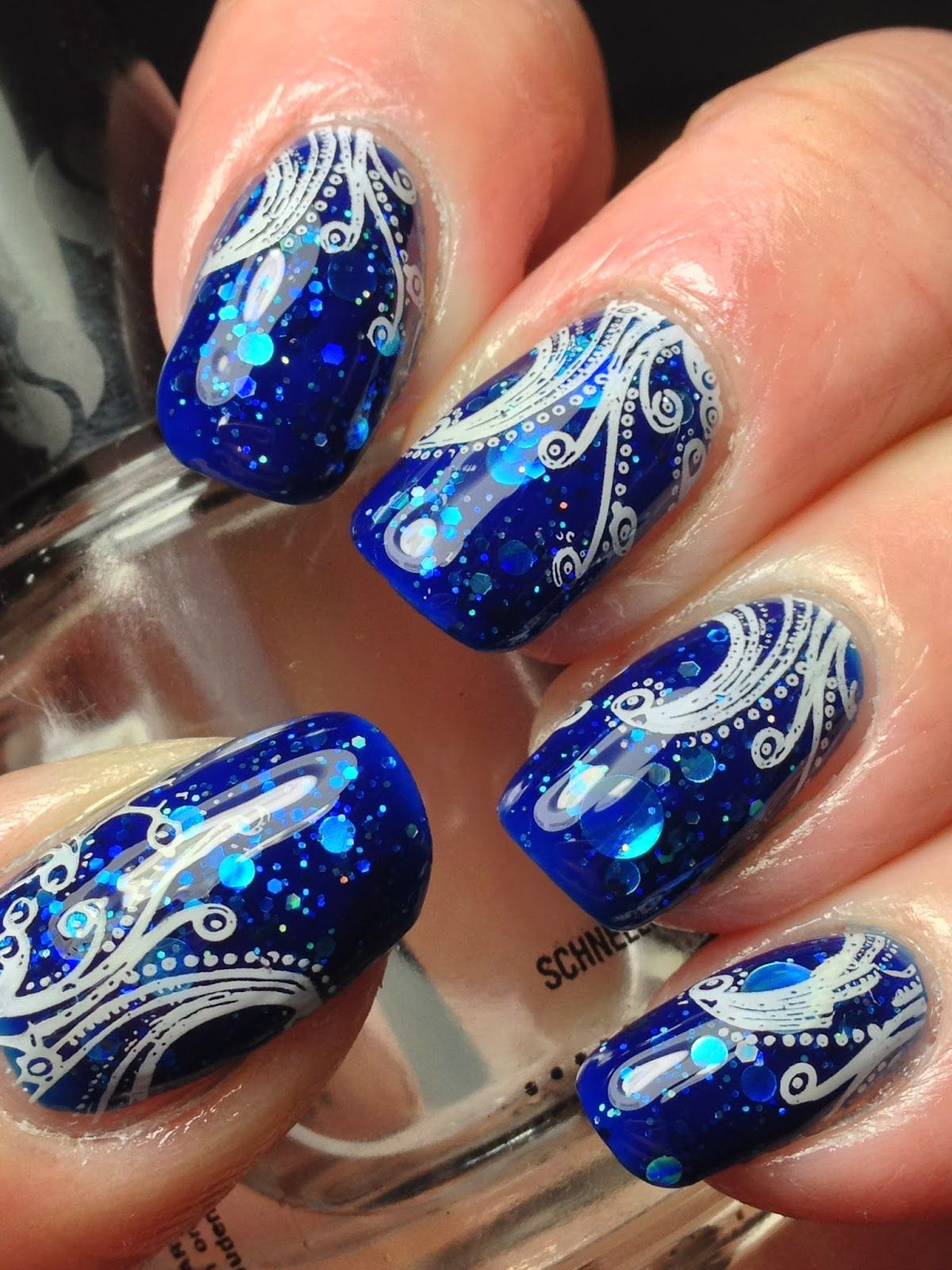 Different dimension da ba dee canadian nail fanatic nail nail