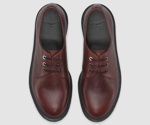 DR MARTENS IMMANUEL Oxblood leather, Shoes, Dress shoes men