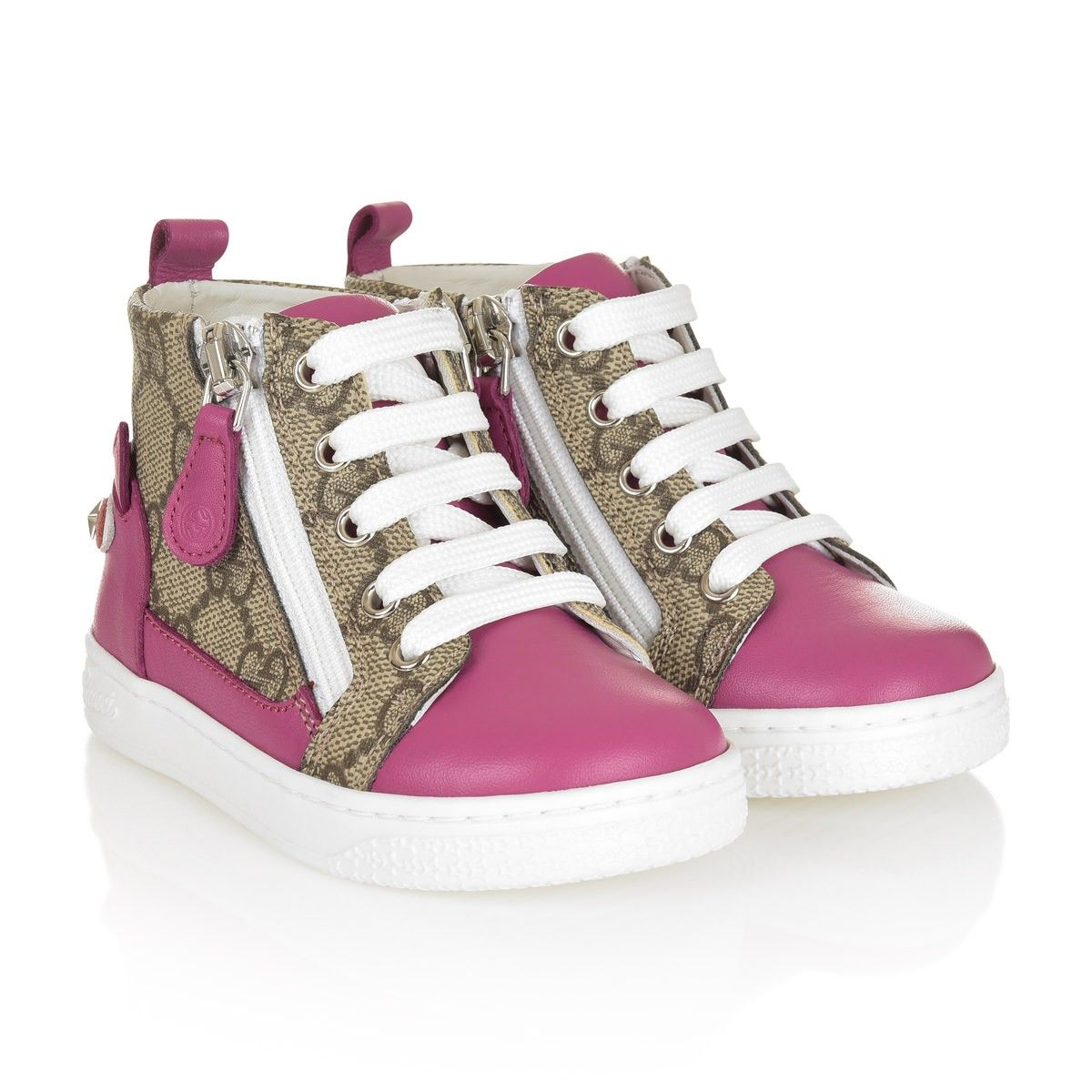 gucci girls trainers