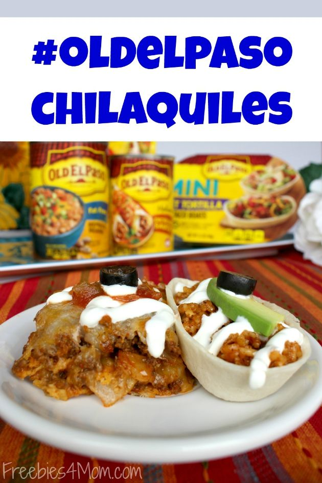 Make Chilaquiles w/ me using #oldelpaso products from Randalls http://freebies4mom.com/oldelpaso #ad