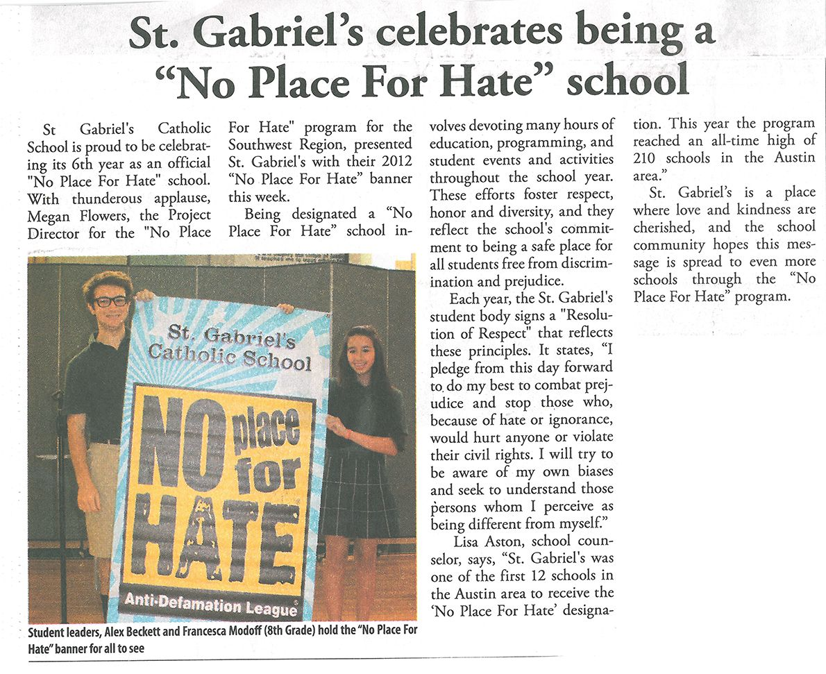 Pin On St Gabriel S In The News