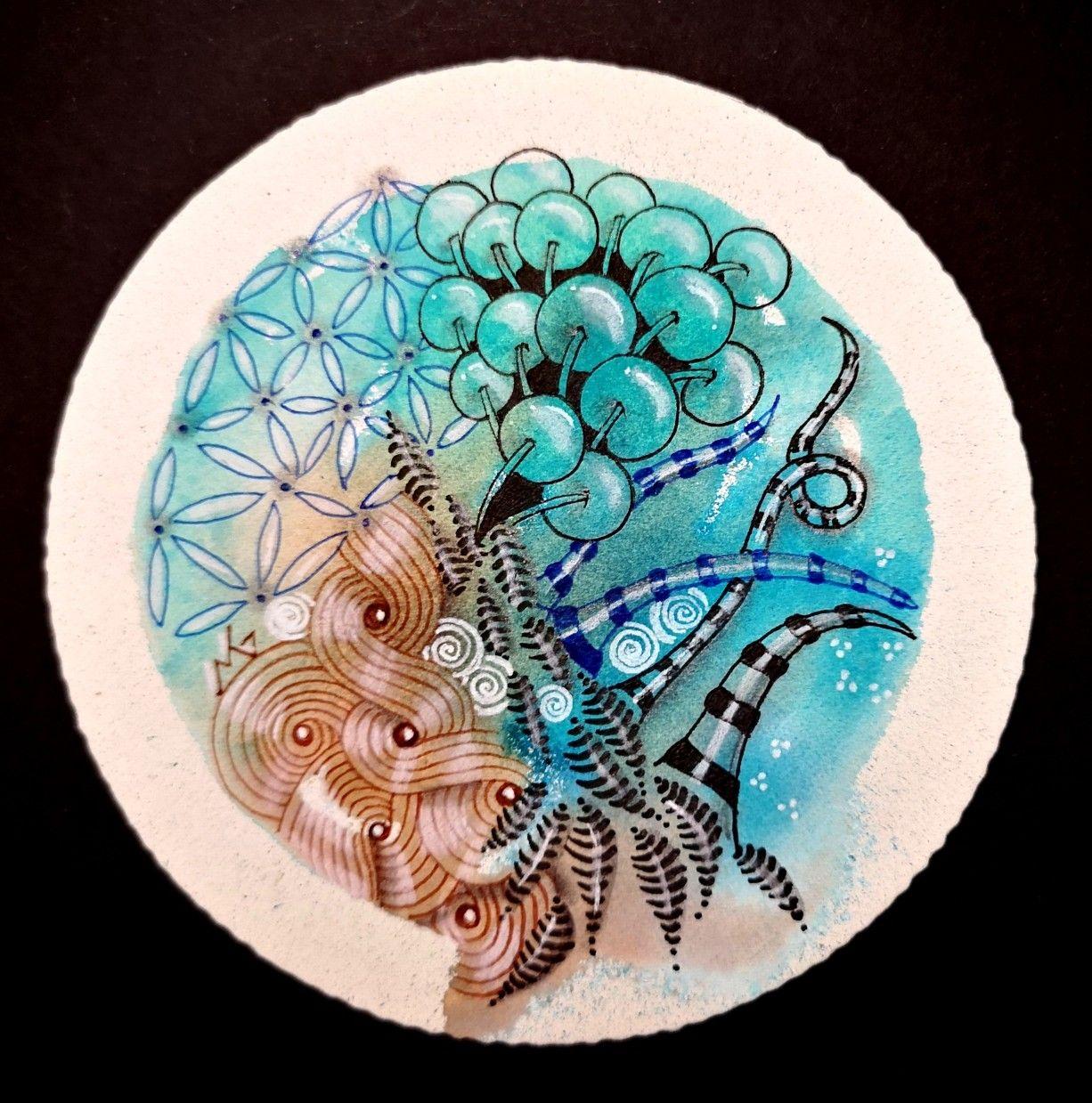 Zen colors image by Teri Stokes on Zen doodle | Zentangle ...