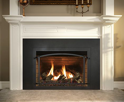 Ambiance Modern Gas Fireplace Inserts Cleaning Brick Fireplaces