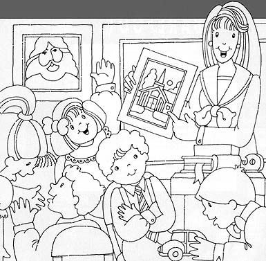 lugares - Coloring Pages Primary Lessons