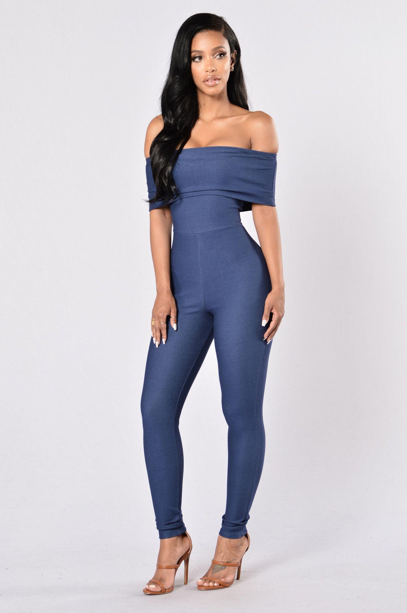 7c970dbdbfb Sandy Jumpsuit - Denim Blue